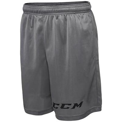 Grey (CCM Team Mesh Hockey Shorts - Boys)