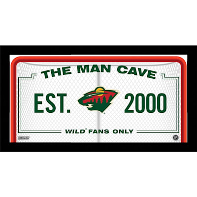 (NHL Man Cave Sign)