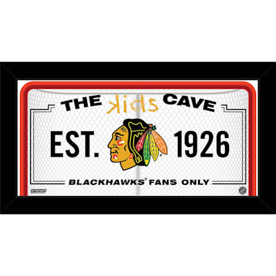 (NHL Kids Cave Sign)