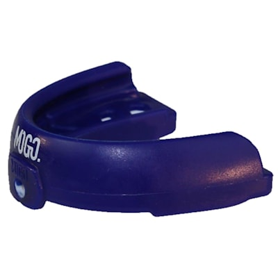 Braces Mouthguard (MOGO Sport Braces Flavored Mouthguard w/Case - Blue Raspberry - Senior)