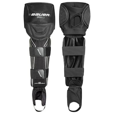 (Bauer Pro Ball Hockey Shin Guards - Junior)
