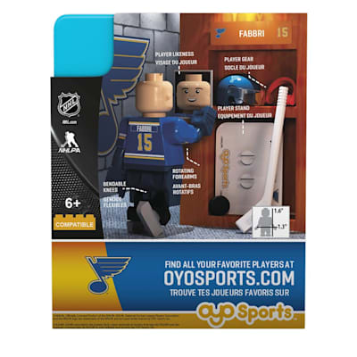 (OYO Sports St. Louis Blues G3 Mini Figures)