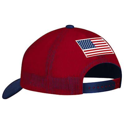 (CCM Team USA Structured Mesh Hat - Adult)