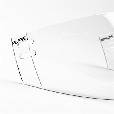 (Pure™ Straight Clear Visor - S30)