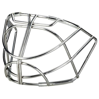 Chrome (Bauer RP Profile Cat Eye Hockey Goalie Cage)
