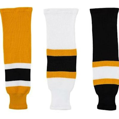(CCM NHL Team Hockey Socks - Boston Bruins - Senior)