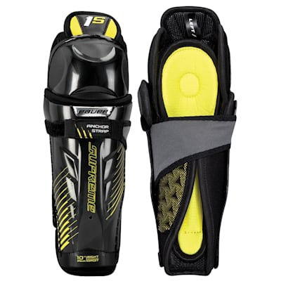 stock (Bauer Supreme 1S Hockey Shin Guards - 2017 - Youth)