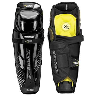 stock (Bauer Supreme S190 Hockey Shin Guards - 2017 - Junior)
