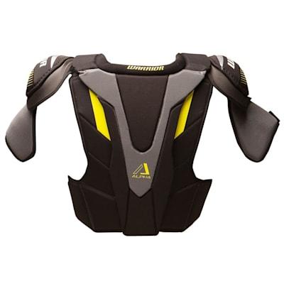 Alpha QX Pro Shoulder Pad - Back View (Warrior Alpha QX Pro Hockey Shoulder Pads - Junior)
