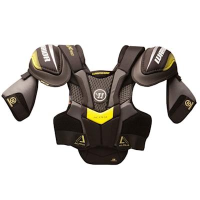 Alpha QX Pro Shoulder Pad - Front View (Warrior Alpha QX Pro Hockey Shoulder Pads - Senior)