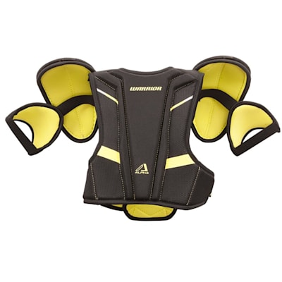 Alpha QX Shoulder Pad - Back View (Warrior Alpha QX Hockey Shoulder Pads - Youth)