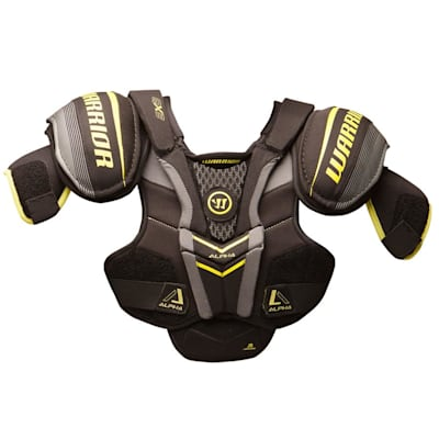 Alpha QX3 Shoulder Pad - Front View (Warrior Alpha QX3 Hockey Shoulder Pads - Junior)