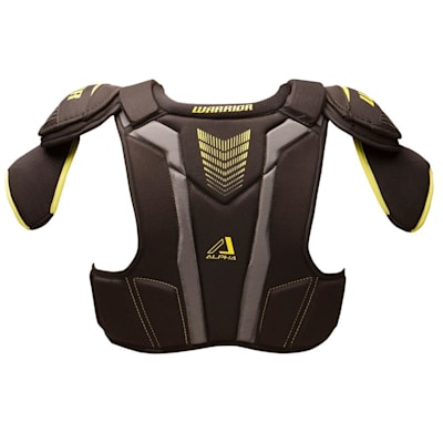 Alpha QX3 Shoulder Pad - Back  View (Warrior Alpha QX3 Hockey Shoulder Pads - Junior)