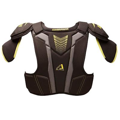 Alpha QX3 Shoulder Pad - Back  View (Warrior Alpha QX3 Hockey Shoulder Pads - Senior)