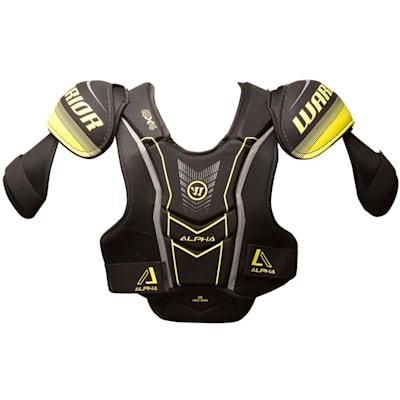 Alpha QX4 Shoulder Pad - Front View (Warrior Alpha QX4 Hockey Shoulder Pads - Senior)