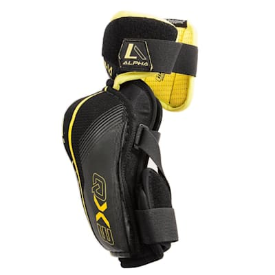 Alpha QX3 Elbow Pad - Left View (Warrior Alpha QX3 Hockey Elbow Pad - Senior)