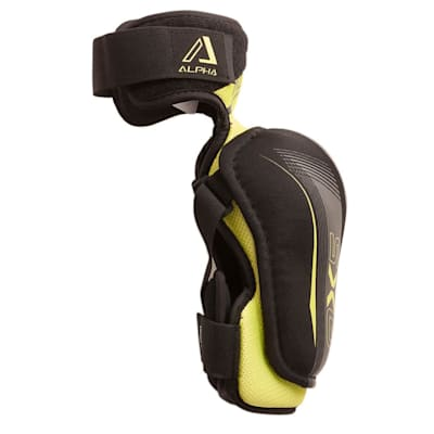 Alpha QX5 Elbow Pad - Right View (Warrior Alpha QX5 Hockey Elbow Pads - Junior)