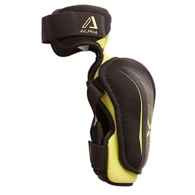 Alpha QX5 Elbow Pad - Right View (Warrior Alpha QX5 Hockey Elbow Pads - Senior)