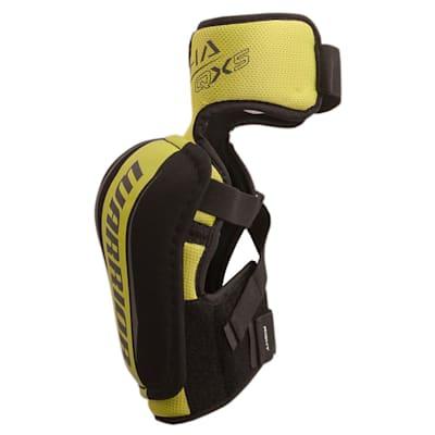 Alpha QX5 Elbow Pad - Left View (Warrior Alpha QX5 Hockey Elbow Pads - Senior)
