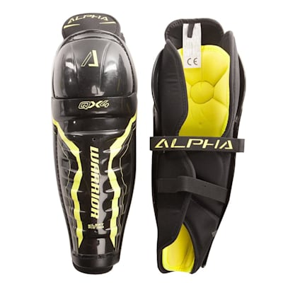 Alpha QX4  Shin Guard - Default View (Warrior Alpha QX4 Hockey Shin Guards - Junior)