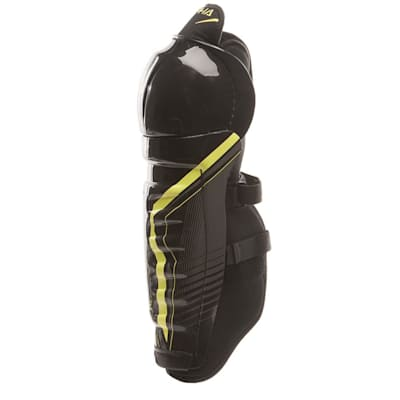 Alpha QX4  Shin Guard - Left View (Warrior Alpha QX4 Hockey Shin Guards - Junior)