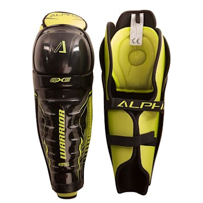 Alpha QX5 Shin Guard - Default View (Warrior Alpha QX5 Hockey Shin Guards - Junior)