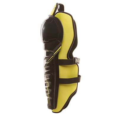 Alpha QX5 Shin Guard - Left View (Warrior Alpha QX5 Hockey Shin Guards - Junior)