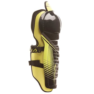 Alpha QX5 Shin Guard - Right View (Warrior Alpha QX5 Hockey Shin Guards - Junior)