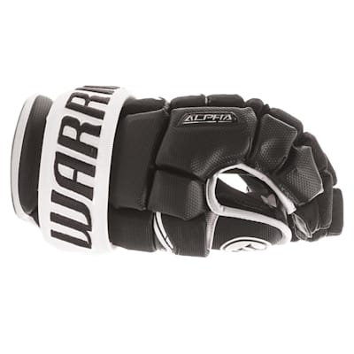 Side View (Warrior Alpha QX Ice Hockey Gloves - Senior)