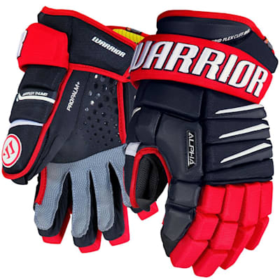 Navy/Red/White (Warrior Alpha QX Ice Hockey Gloves - Senior)