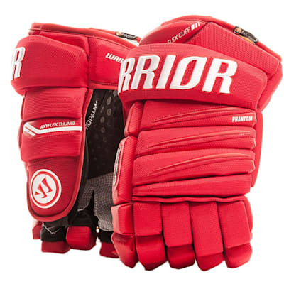 Red/White (Warrior Alpha QX Ice Hockey Gloves - Senior)