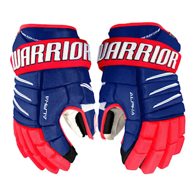(Warrior Alpha QX Pro Hockey Gloves - Senior)