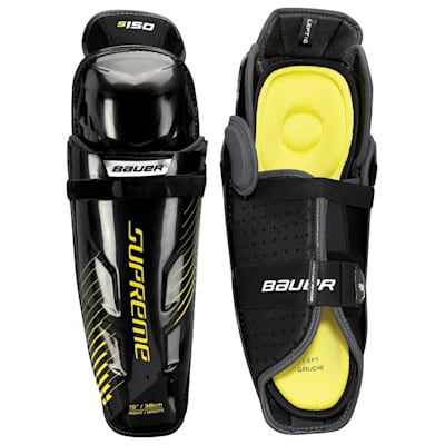 stock (Bauer Supreme S150 Hockey Shin Guards - 2017 - Senior)