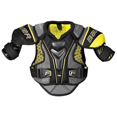 stock (Bauer Supreme 1S Hockey Shoulder Pads - 2017 - Senior)