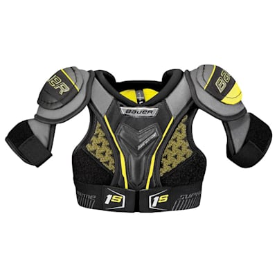 stock (Bauer Supreme 1S Hockey Shoulder Pads - 2017 - Youth)