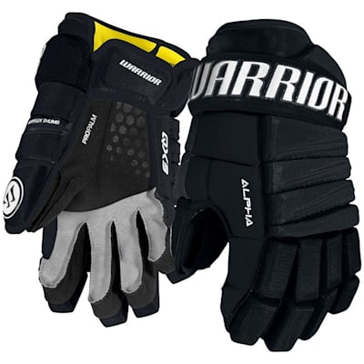 Navy (Warrior Alpha QX3 Ice Hockey Gloves - Junior)