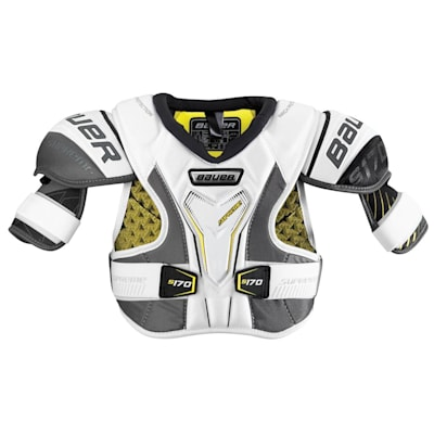 stock (Bauer Supreme S170 Hockey Shoulder Pads - 2017 - Junior)
