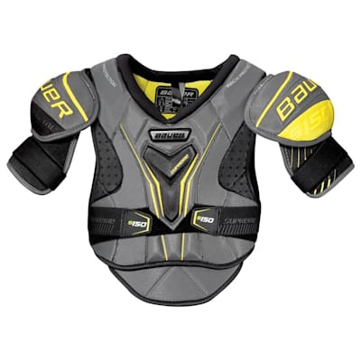 stock (Bauer Supreme S150 Hockey Shoulder Pads - 2017 - Junior)