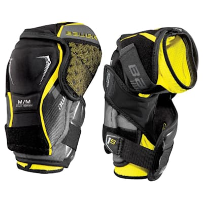 stock (Bauer Supreme 1S Hockey Elbow Pads - 2017 - Junior)