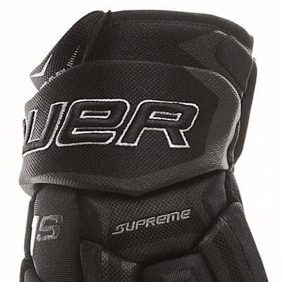 Cuff View (Bauer Supreme 1S Hockey Gloves - 2017 - Junior)