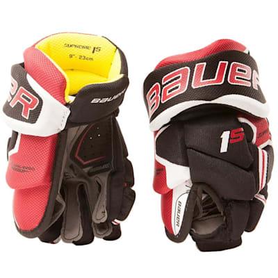 (Bauer Supreme 1S Hockey Gloves - 2017 - Youth)