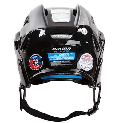 Back (Bauer Re-Akt 200 Hockey Helmet)