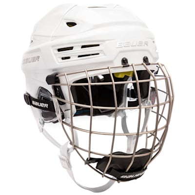 (Bauer RE-AKT 200 Hockey Helmet Combo)