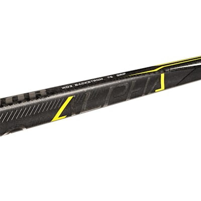 Shaft View (Warrior Alpha QX Grip Composite Hockey Stick - Intermediate)