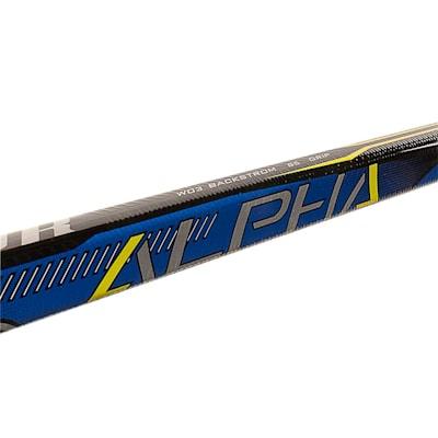 (Warrior Alpha QX3 Grip Composite Hockey Stick - Intermediate)