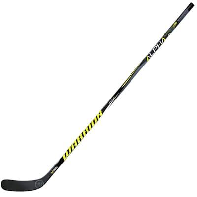 Alpha QX4 Grip Comp Stick (Warrior Alpha QX4 Grip Composite Hockey Stick - Junior)