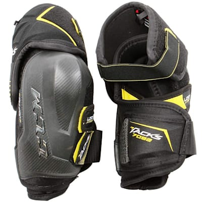 Tacks 7092 Elbow Pads (2017) - Front/Back View (CCM Tacks 7092 Hockey Elbow Pads - Junior)