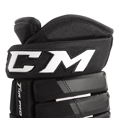 4R Pro Gloves (2017) - Cuff View (CCM 4R Pro Ice Hockey Gloves - Junior)