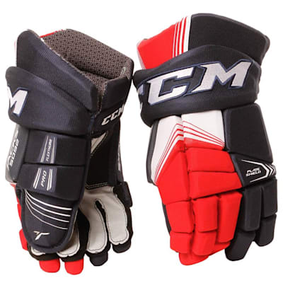 Tacks 5092 Gloves (2017) - Front View (CCM Tacks 5092 Hockey Gloves - Junior)