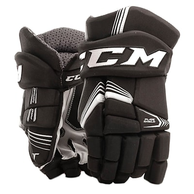 Black (CCM Tacks 5092 Ice Hockey Gloves - Junior)